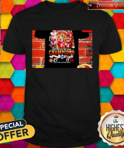 Nice 2020 Lending Tree Bowl Champions Louisiana Ragin' Cajuns Shirt
