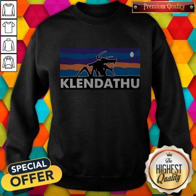 Nice Beautiful Klendathu Sweatshirt