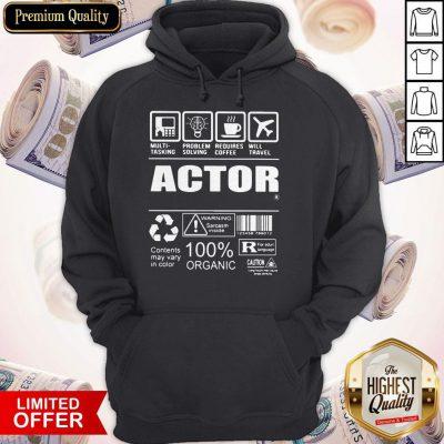 Nice Official Actor Hoodie