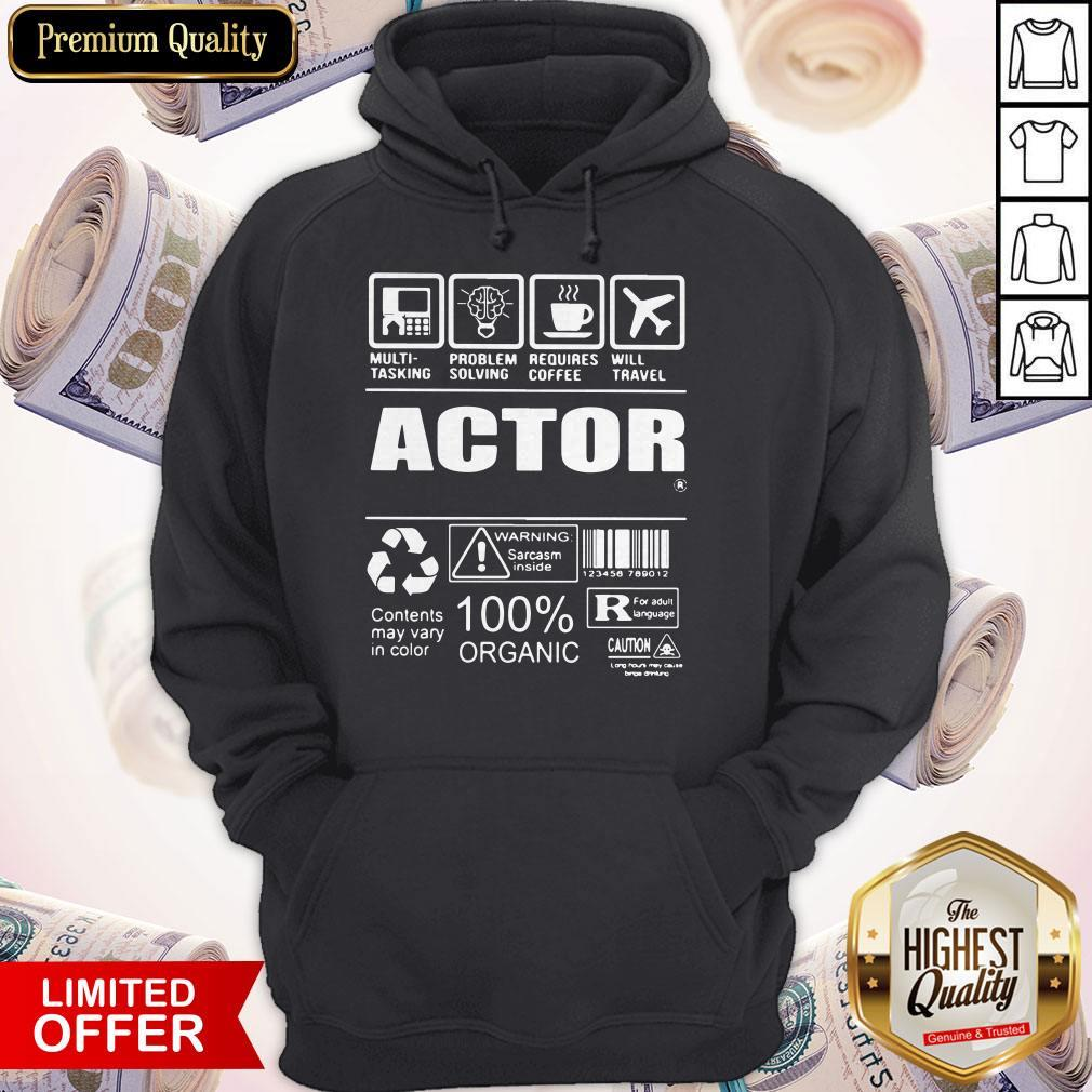 Nice Official Actor Hoodie