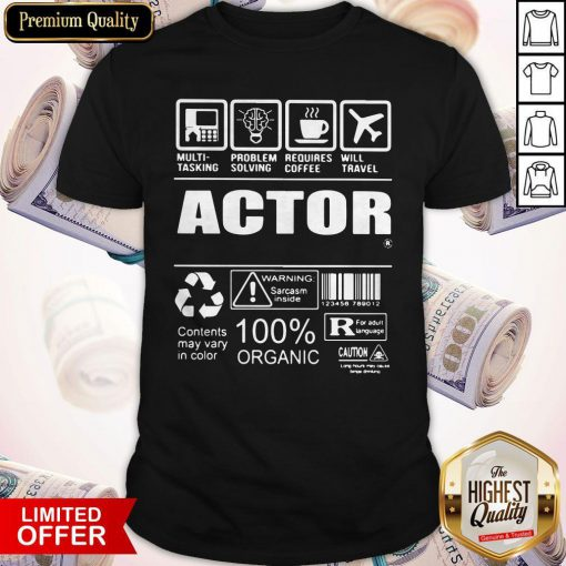Nice Official Actor Shirt