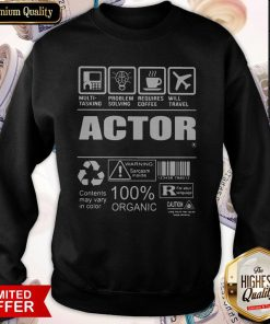 Nice Official Actor Sweatshirt