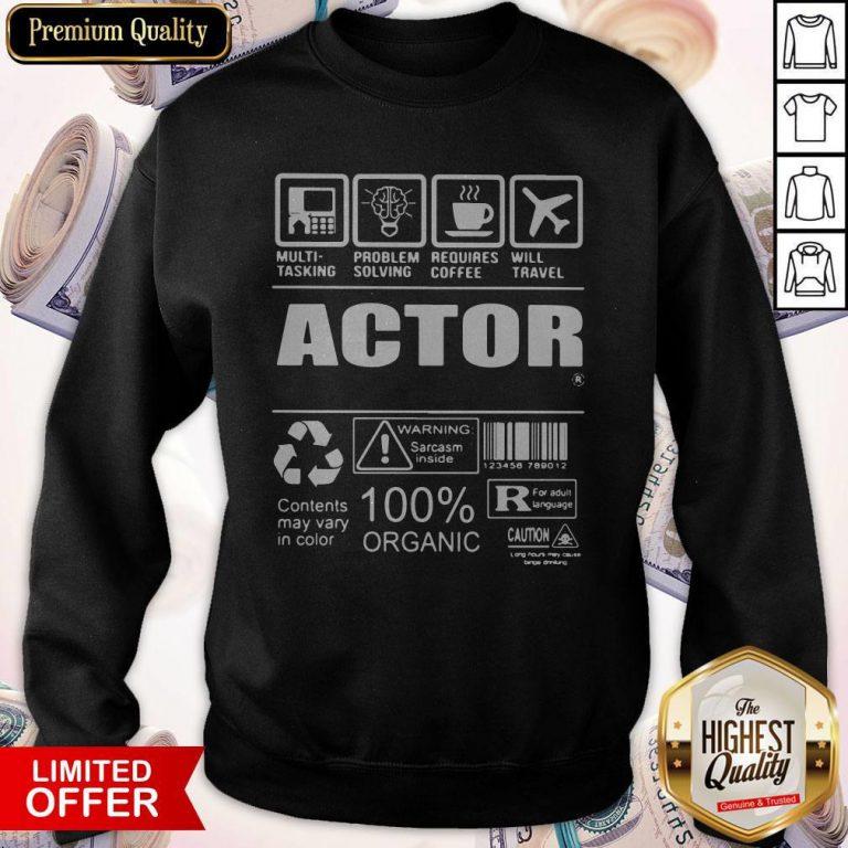 Nice Official Actor Sweatshirt