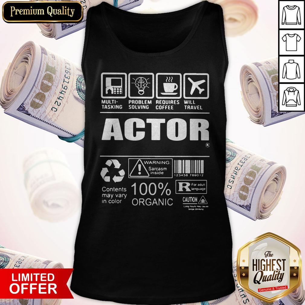 Nice Official Actor Tank-Top