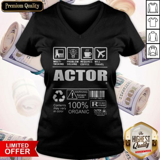 Nice Official Actor V-neck