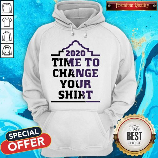 Official 2020 Time To Change Your Hoodie