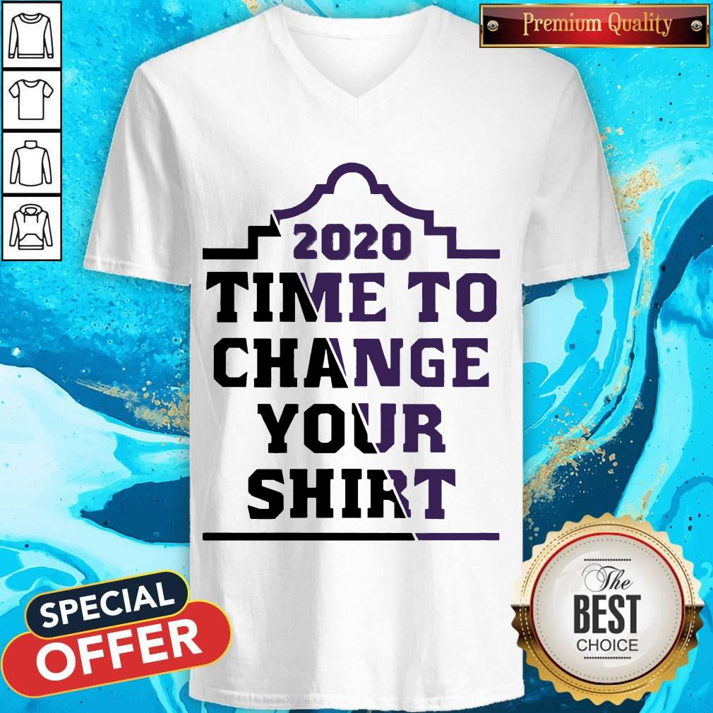 Official 2020 Time To Change Your V-neck