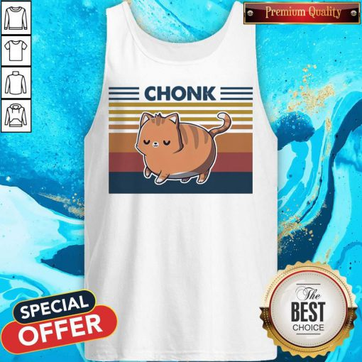Official Cat Chonk Vintage Tank Top