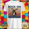 Official Reindeer Rock On Vintage Shirt