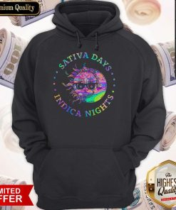 Official Sativa Day Indica Nights Hoodie