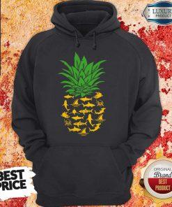 Official Shark Pineapple Hoodie