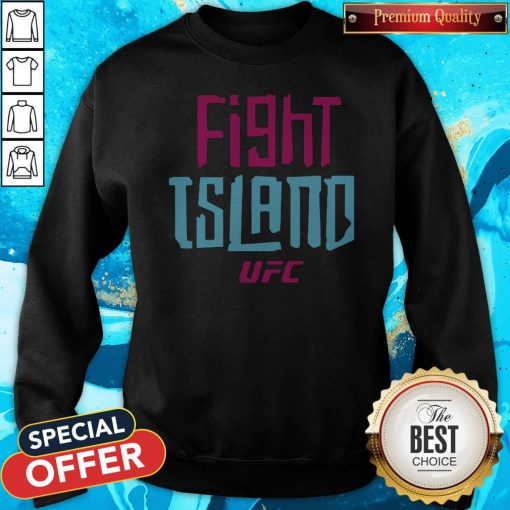 Official UFC Fight Island Sweatshirt