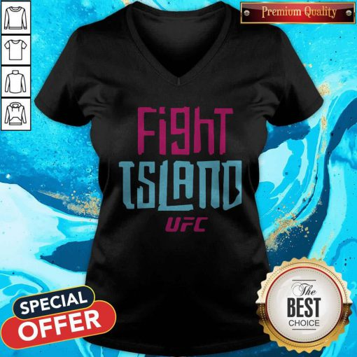 Official UFC Fight Island V-neck