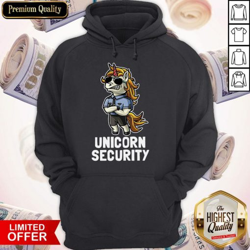 Official Unicorn Security Hoodie