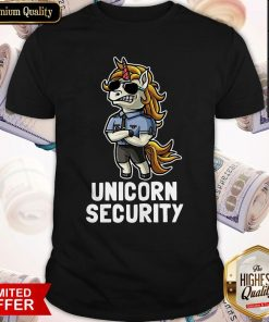 Official Unicorn Security Shirt