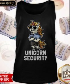 Official Unicorn Security Tank Top