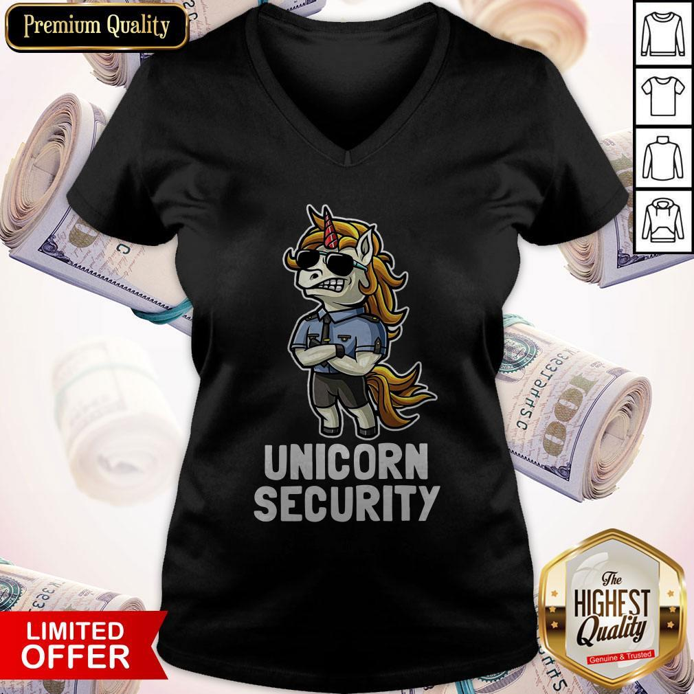 Official Unicorn Security V-neck