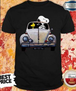 Snoopy And Woodstock Driving 09-09-MK Shirt