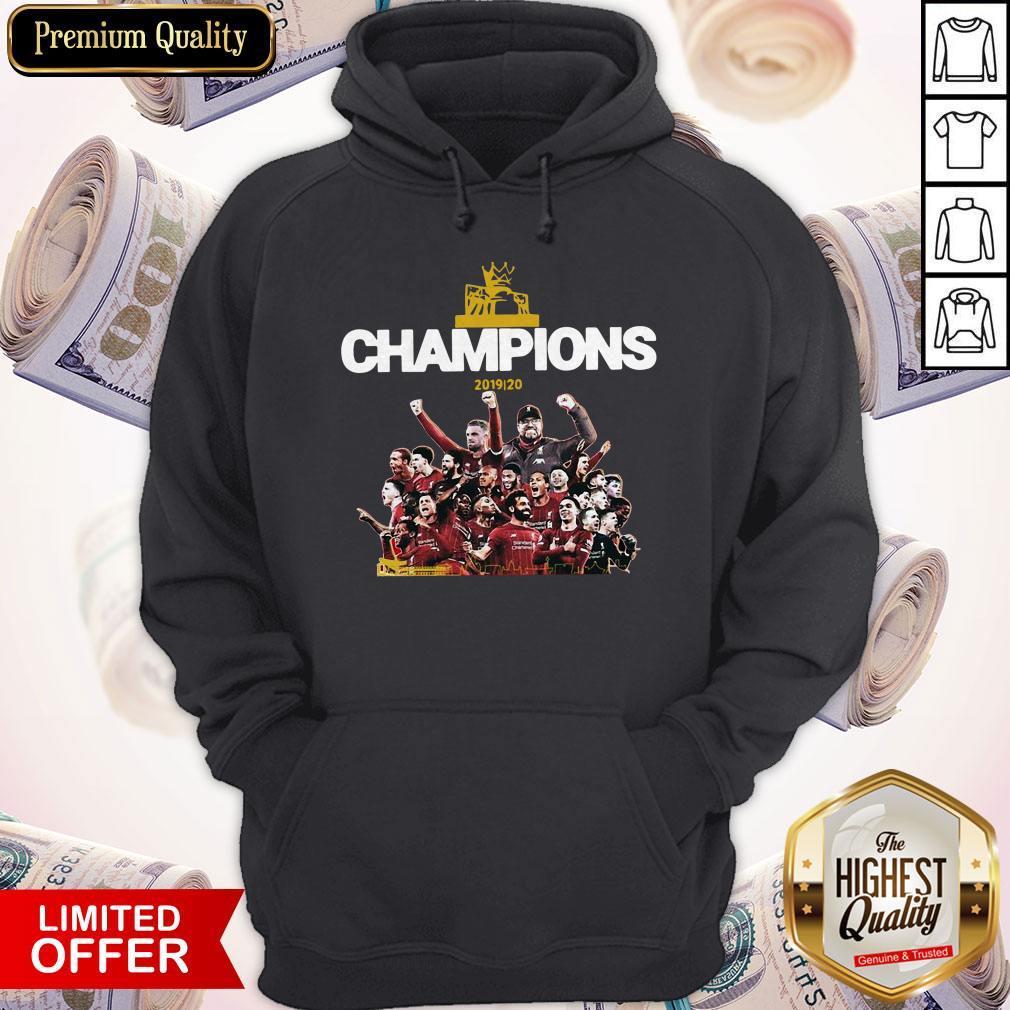 Top Liverpool Fc Premier League Champions 2019-20 Hoodie