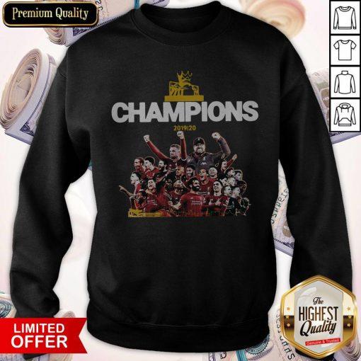 Top Liverpool Fc Premier League Champions 2019-20 Sweatshirt