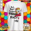 Unicorn Rock Paper Scissors Throat Punch I Win Shirt