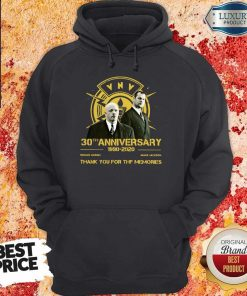 VNV Nation 30th Anniversary 1990-2020 Thank You For The Memories Hoodie