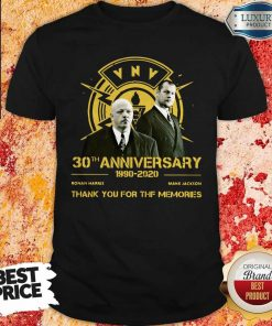 VNV Nation 30th Anniversary 1990-2020 Thank You For The Memories Shirt