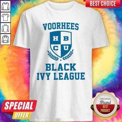 Voorhees HBCU Black Ivy League shirt