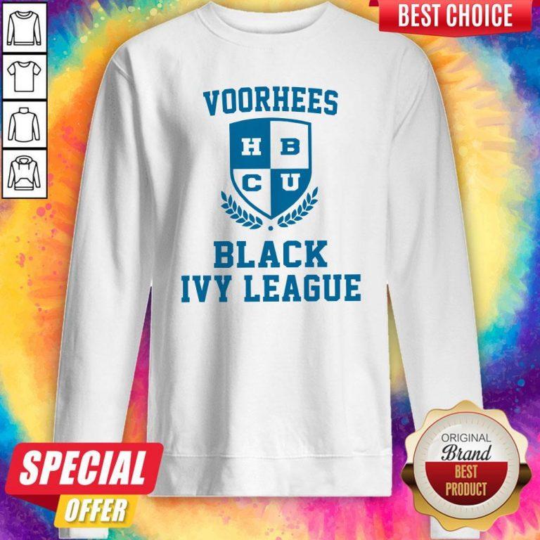 Voorhees HBCU Black Ivy League Sweatshirt