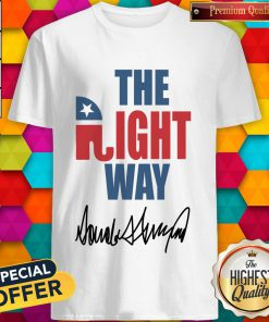 Amazing Joetshirts – The Right Way Pro Republican Elephant Trump Shirt