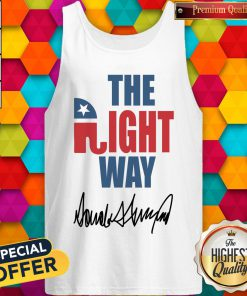 Amazing Joetshirts – The Right Way Pro Republican Elephant Trump Tank Top
