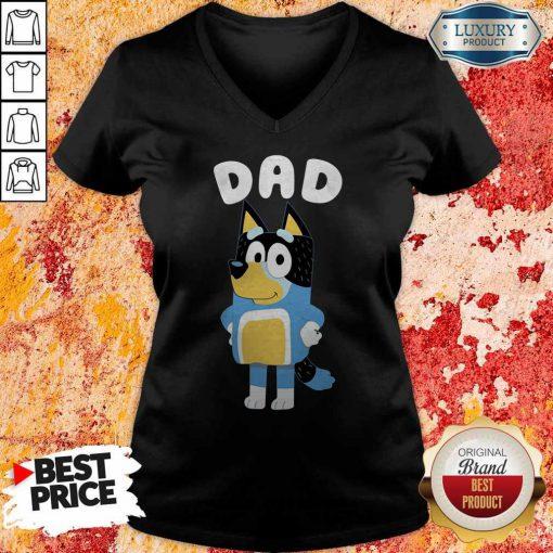 Awesome Bluey Dad V-neck