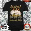 Bee Gees 54th Anniversary 1958 2012 Thank You For The Memories Signatures ShirtBee Gees 54th Anniversary 1958 2012 Thank You For The Memories Signatures Shirt