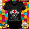 Blood Inside Me American Red Cross I Don't Stop When I'm Tired I Stop When I'm Done V-neck