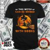 Cat This Witch Can Be Bribed With Books Shirt
