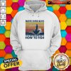Fishing Move Over Boys Let This Girl Show You How To Fish Vintage Retro Hoodie