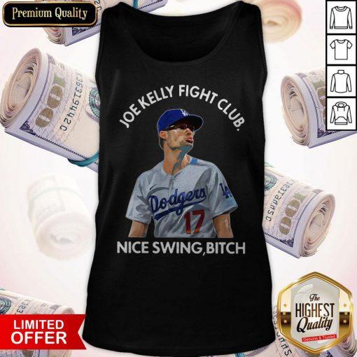 Joe Kelly Fight Club Nice Swing Bitch Tank-Top