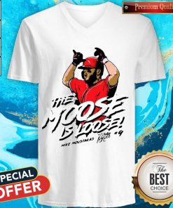 Official The Moose Is Loose V-neck