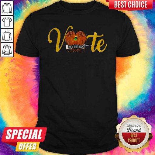 Official Vote Allan Bird Shirt