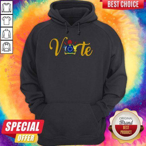 Nice Official Vote Island Hoodie