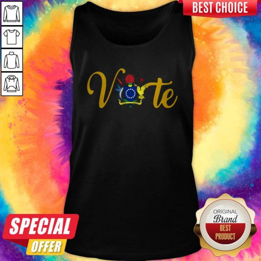 Nice Official Vote Island Tank top