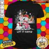 Pig And Snowman Let It Snow Christmas Shirt
