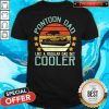 Pontoon Dad Like A Regular Dad But Cooler Vintage Shirt