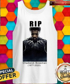 RIP Marvel Black Panther Chadwick Boseman Tank Top