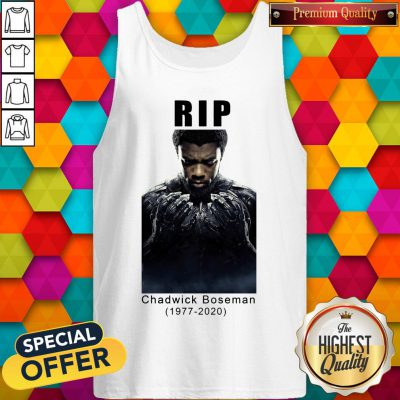 RIP Marvel Black Panther Chadwick Boseman Tank Top