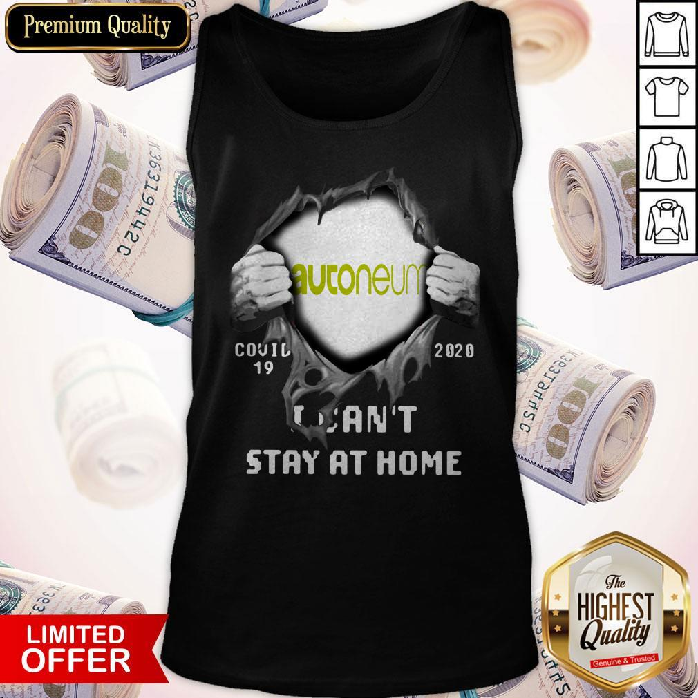 Autoneum Shut Down For Christmas 2020 Autoneum Inside Me Covid 19 2020 I Can't Stay At Home Shirt