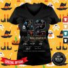42 Years Of 1978 2020 10 Moves Halloween Thank You For The Memories Signatures V-neck