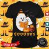 Boo Reading Funny Halloween Costume Shirt