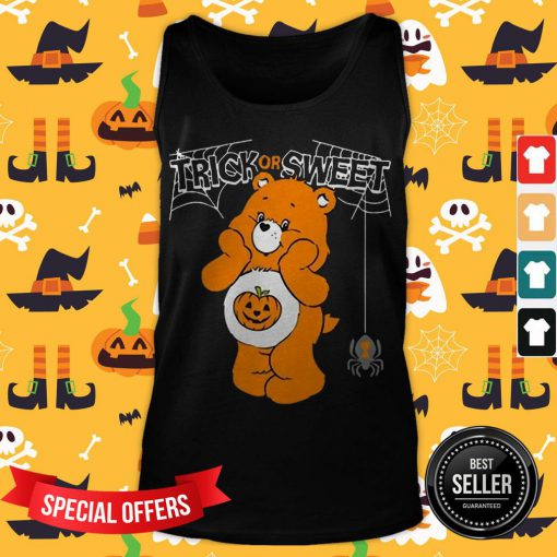 Care Bears Trick Or Sweet Bear Halloween Tank Top