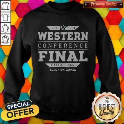 Dallas Stars 2020 western conference final Sweatshirt